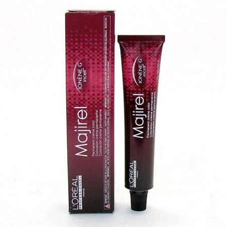 Tinte majirel 8.04 Rubio Claro Natural Cobrizo 50 ml